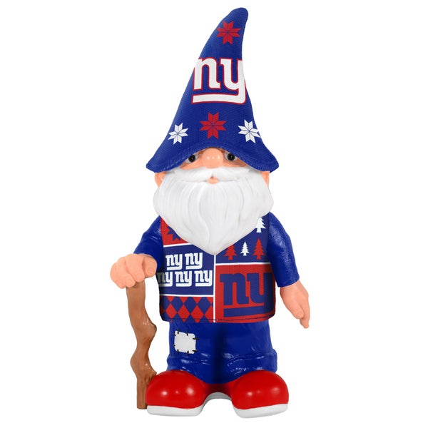 Forever Collectibles New York Giants Real Ugly Sweater Gnome