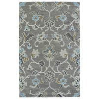 Christopher Ziegler Grey Hand-Tufted Rug - 9' x 12'