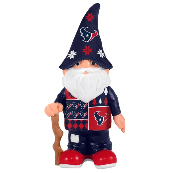 Forever Collectibles Houston Texans Real Ugly Sweater Gnome