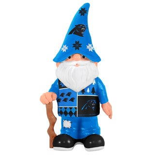 Forever Collectibles Carolina Panthers Real Ugly Sweater Gnome