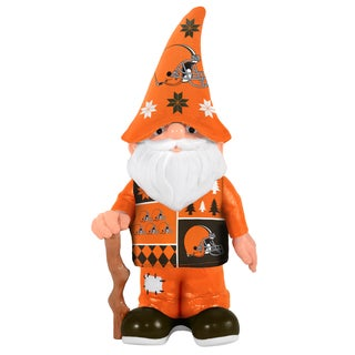Forever Collectibles Cleveland Browns Real Ugly Sweater Gnome