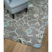 Christopher Ziegler Grey Hand-Tufted Rug - 10' x 14'