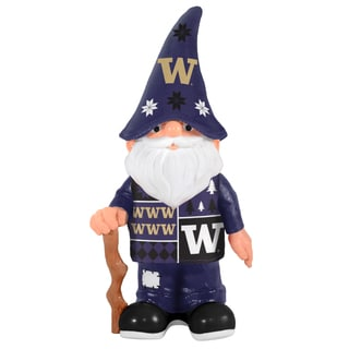 Forever Collectibles Washington Huskies Real Ugly Sweater Gnome