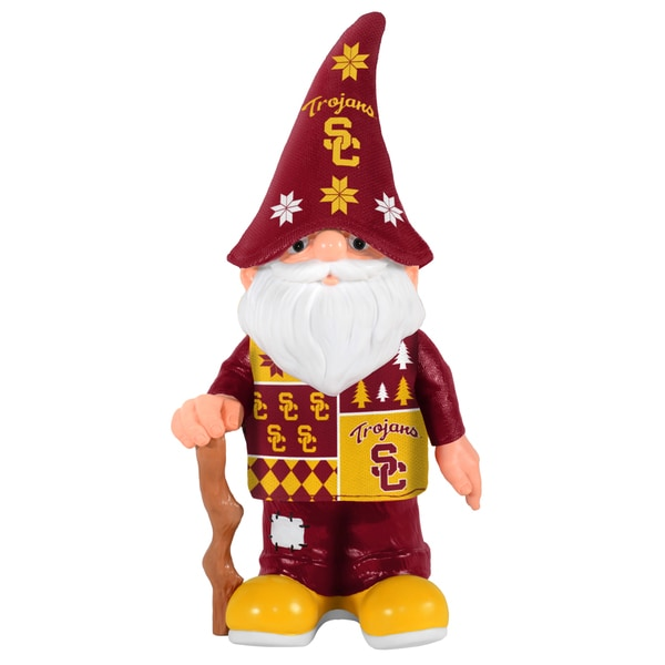 Forever Collectibles USC Trojans Real Ugly Sweater Gnome