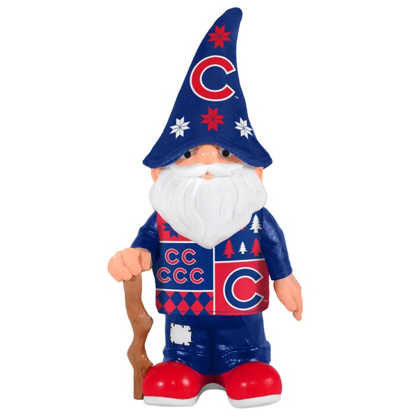 Forever Collectibles Chicago Cubs Real Ugly Sweater Gnome