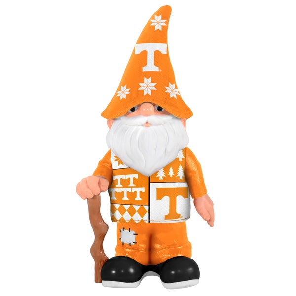 Forever Collectibles Tennessee Volunteers Real Ugly Sweater Gnome