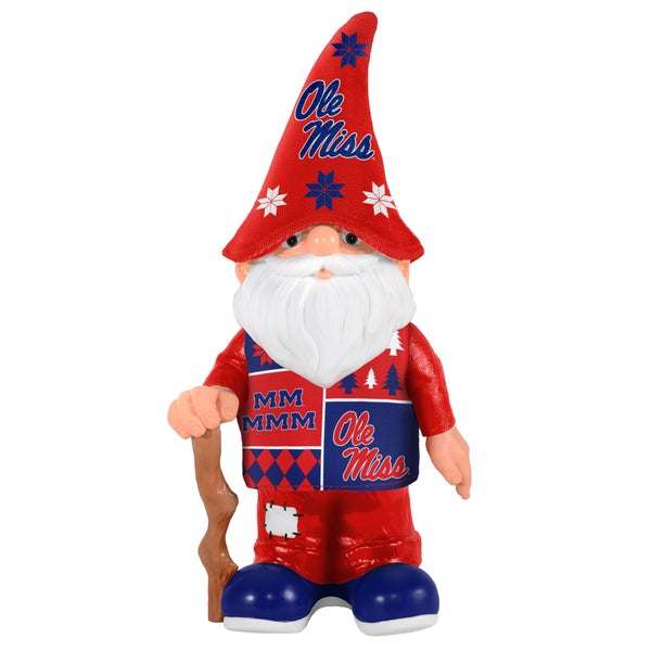 Forever Collectibles Ole Miss Rebels Real Ugly Sweater Gnome