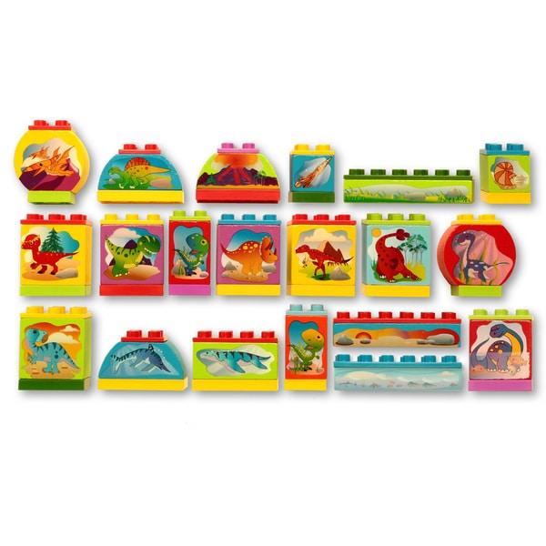 Dream Blocks Dinosaur (20-piece Set)