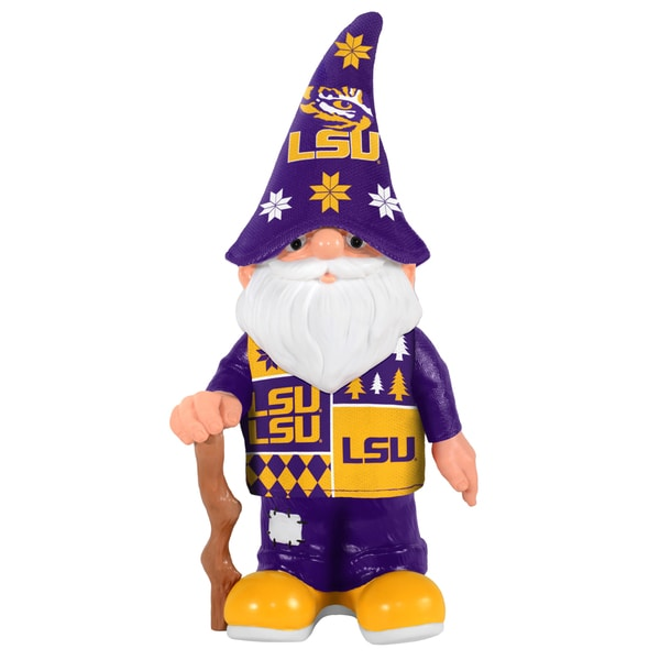 Forever Collectibles LSU Tigers Real Ugly Sweater Gnome