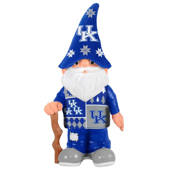 Forever Collectibles Kentucky Wildcats Real Ugly Sweater Gnome