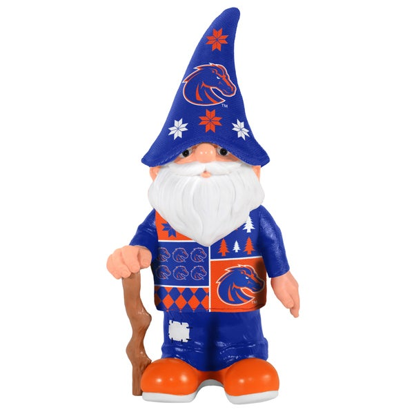 Forever Collectibles Boise State Broncos Real Ugly Sweater Gnome