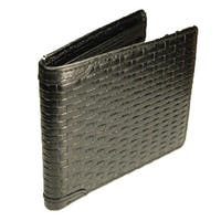 Castello Leather Slim Bill-Fold Wallet With RFID