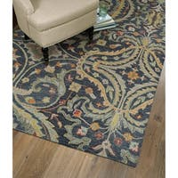 Christopher Pewter Classique Hand-Tufted Rug - 4' x 6'
