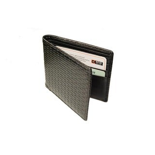 Castello Leather Bi-Fold Wallet With RFID