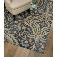 Christopher Pewter Classique Hand-Tufted Rug - 2'6 x 8'