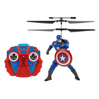 Marvel Comics Officially Licensed Avengers: Age Of Ultron Captain America 2-channel IR RC Helicopter with Sounds|https://ak1.ostkcdn.com/images/products/10575929/P17652179.jpg?impolicy=medium