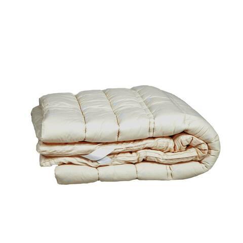 Sleep & Beyond myTopper Washable Wool Mattress Topper - Off-white