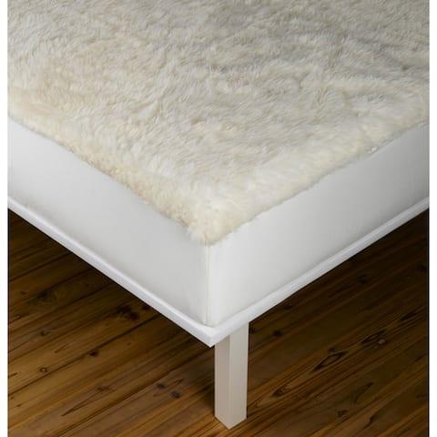 Sleep & Beyond myDual Reversible Wool/ Cotton Mattress Pad