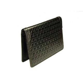 Castello Leather Slim Credit Cardholder With RFID