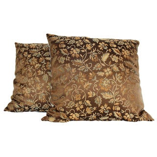 Chopin Bronze Throw Pillow (Set of 2)