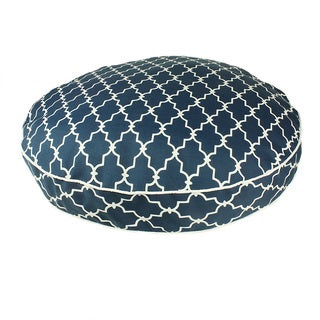 Snoozer Garden Gate Navy Round Pet Bed