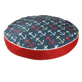 Snoozer Anchors Away Round Pet Bed