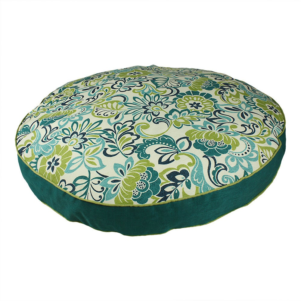 Snoozer Zoe Round Pet Bed (Large), Blue
