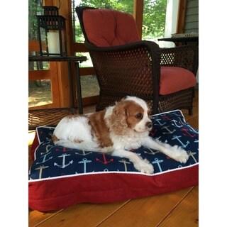Snoozer Anchors Away Rectangular Pet Bed