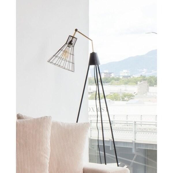 Aurelle Home Hanna Modern Tripod Floor Lamp