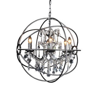 Aurelle Home Darra Chandelier LightLarge