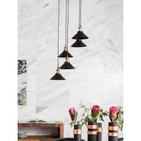 Aurelle Home Belinda 5-lamp Industrial Pendent