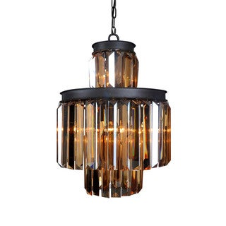 Aurelle Home Benelli Chandelier Lamp