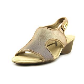 Anne Klein Sport Women's 'Olimpia' Basic Textile Sandals