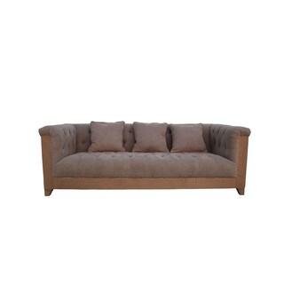 Aurelle Home English Shelter Sofa