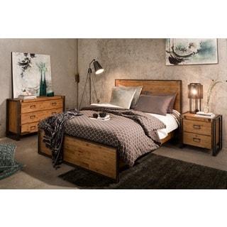 Aurelle Home Industrial King Bed