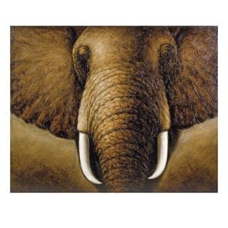 Tusks Oil Painting