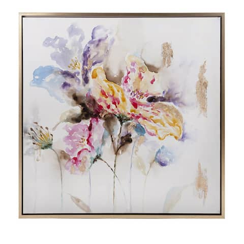 Excellent Delicate Framed Oil Painting