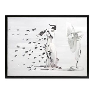 Pongo Spots Oil Painting