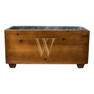 Personalized Wooden Wine Trough (More options available)
