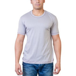 Steven Craig Apparel Men's Short Sleeve Crew Neck T-shirt with Contrasting Trim