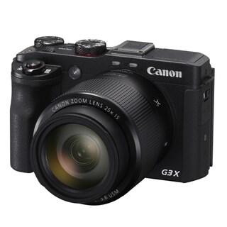 Canon PowerShot G3 X 20.2 Megapixel Compact Camera - Black