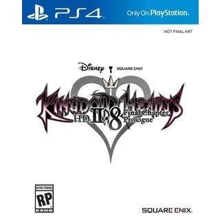 Kingdom Hearts 2.8 HD Final Chapter Prologue For PS4
