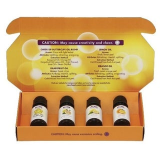 Link to Now Foods 4 piece Put Some Pep in Your Step Uplifting Essential Oil Kit Similar Items in Aromatherapy & Massage
