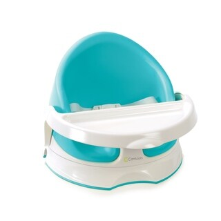 Contours Twist Grow with Me 3-in-1 Floor, Booster and Feeding Seat with 180-degree Swivel