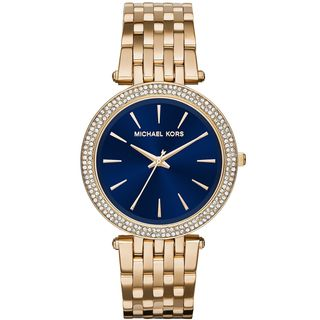 Michael Kors Women's MK3406 'Darci' Crystal Gold-Tone Stainless Steel Watch