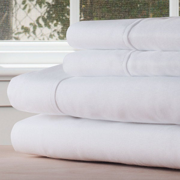 Winsor Home Series 1200 Thread Count Sheet Set Twin XL - White