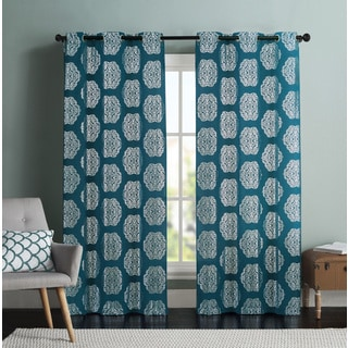 VCNY Ledgewood Curtain Panel Pair