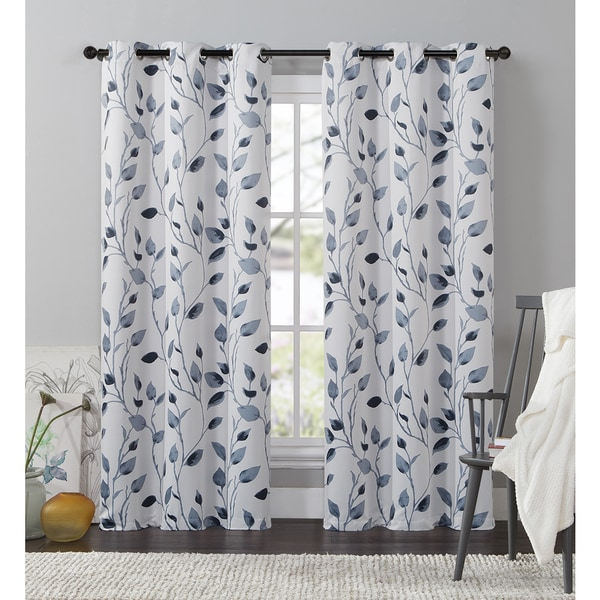 VCNY Paige 84-Inch Blackout Curtain Panel - 17653653 - Overstock.com ...