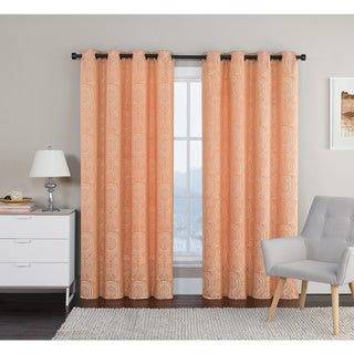 VCNY Manchester 84-Inch Grommet Curtain Panel