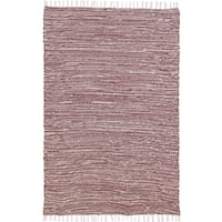 Brown Complex Chenille Flat Weave Rug - 10' x 14'